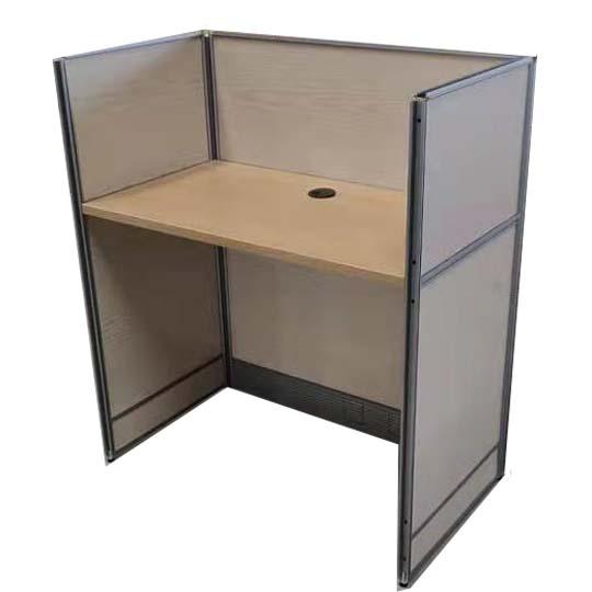 华礼龙 木制台、桌类 屏风工位 E1级刨花板W750*D500*H1400mm T-7001