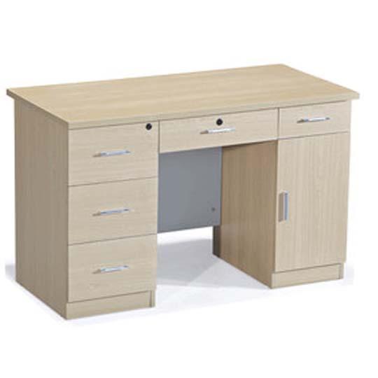 华礼龙 木制台、桌类 办公桌DB-1261 E1级中纤板 白枫色 W1200*D600*H750mm