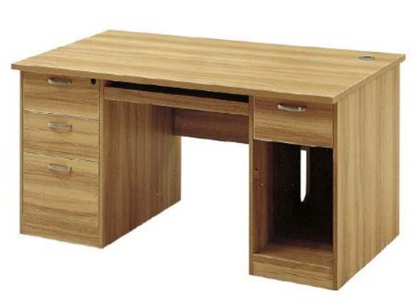 华礼龙 木制台、桌类 办公桌W1200*D600*H750mm E1级中纤板 T-1412