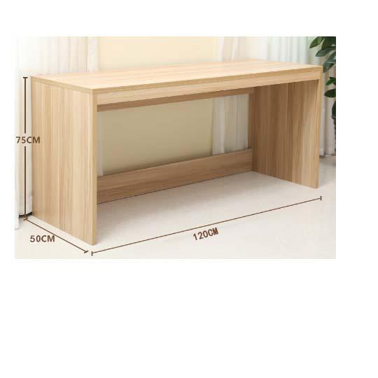 华礼龙 木制台、桌类 桌子 办公桌D-1201 E1级中密度纤维板W1200*D500*H750